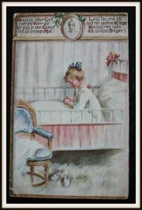 Postkarte Elly Frank 1915
