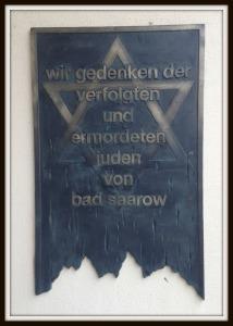 Bad Saarow Gedächtnistafel
